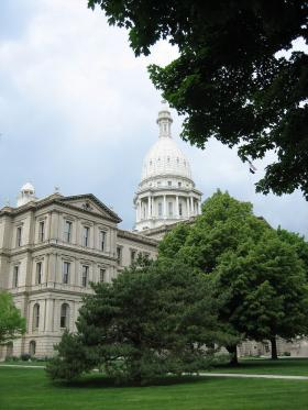 Lansing's growth stemmed from the legislatures decision to relocate the capital from Detroit to Lansing Township.