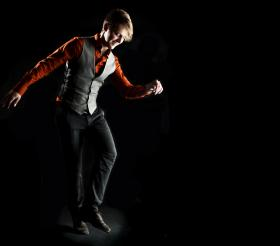 Dancer Nic Gareiss. His MA thesis is called 'Queering the Feis: An Examination of the Expression of Alternative Sexual Identity in Competitive Irish Step Dance in Ireland.'