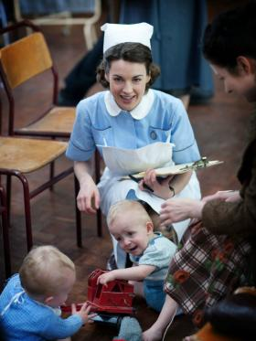 "Babies, bicycles and love strike in the new season of ""Call the Midwife."""