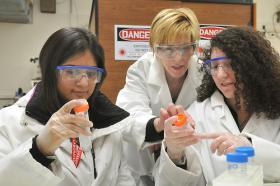 Despite graduation rates exceeding that of American men, women in this country are still underrepresented in the science and technology fields.
