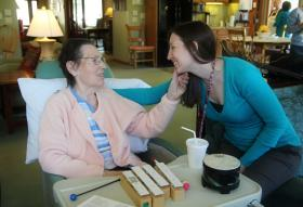 Hospice of Lansing has been an independent, local nonprofit since 1979.