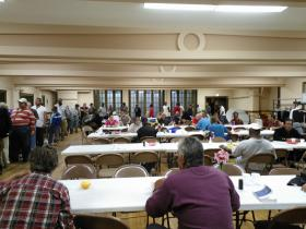 Housed at the Central United Methodist Church in Lansing, the Open Door Ministry has been providing key personal needs such as hot meals, laundry and phone services for homeless people for 30 years.