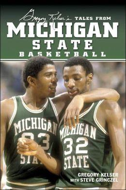 Magic Johnson & Greg Kelser on the cover of Greg's book.