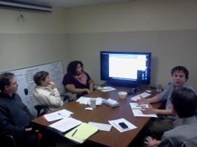 The Current State team prepares for the show's January 2013 launch