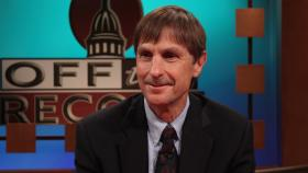 Dr. Gary Wolfram, Economist, appearing on Off the Record with Tim Skubick.