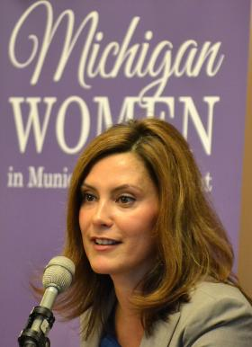 Sen. Gretchen Whitmer voted against the school funding measure in the 2014 Michigan budget because it was insufficient, she says.