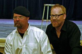 Co-host Adam Savage's background prior to 'Mythbusters' is primarily in special effects and film.