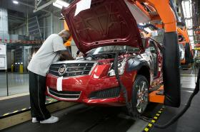 The Cadillac ATS model was developed in Warren, Mich. in the General Motors Technical Center, according to General Motors.