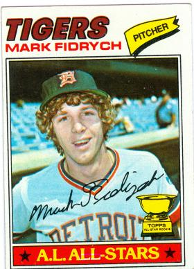 Mark Fidrych joined the Detroit Tigers in 1976.  He was known for his antics on the mound, and for shaking hands with nearly everyone after games.