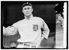 Ty Cobb spent 22 seasons with the Detroit Tigers. He was the Tigers' player-manager for his last six seasons in Detroit.