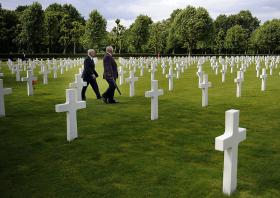 The World War II Netherlands American Cemetery and Memorial is the final resting place of 8,301 American soldiers.