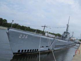 The U.S.S. Silversides saw a lot of combat in the Pacific during World War II.  She's now permanently docked in Muskegon.