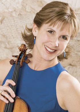 Violinist Stephanie Sant'Ambrogio plays Brahms with pianist James Winn