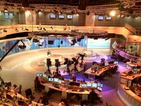 Al Jazeera, which literally means 'the island', is an Arabic news and current affairs satellite TV channel.