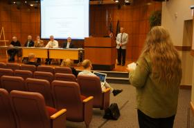 Melody Karr told the Michigan Medical Marihuana Review Panel Thursday that she suffers from both PTSD and insomnia