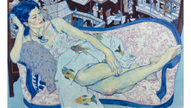 Alison Gass of the Broad Art Museum says the Gangloff works are kicking off a three-part series of exhibitions tying new works with others from the collection of the former Kresge Art Museum.