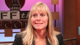 Cindy Gamrat, Tea Party Leader, appearing on Off the Record with Tim Skubick.