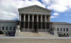 The U.S. Supreme Court Building, where a Michigan-based affirmative action case is heard by the nation's highest court.