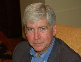 Gov. Rick Snyder has chosen Kevin Clinton to replace Andy Dillon as state Treasurer.