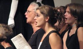 The Lakewood Area Choral Society has performed with students from Jenison High School.
