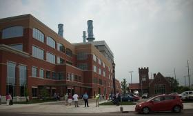 The Lansing Board of Water and Light's new cogeneration plant went online earlier this year.