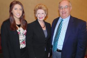Hannah Watts, Senator Stabenow, Kirk Heinze