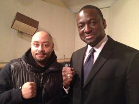 Raymond Santana (left) and Yusef Salaam of the Central Park Five were exonerated years after their incarceration.