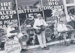 Eddie Jackson and the Swingsters are seen on the cover of 'Detroit Country Music: Mountaineers, Cowboys and Rockabillies.'