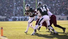 The MSU Spartans will face Ohio State University next Saturday for the Big Ten Conference Championship.