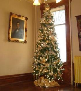 One of the featured trees at last year's Festival of Trees at the Turner-Dodge House in Lansing.
