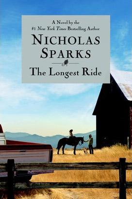 Book cover: The Longest Ride by Nicholas Sparks