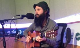 Greater Alexander performed live in Studio S today. He's one of the musicians in the Acoustic Guitar Project.