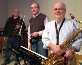 Left to right: Bob  Lindahl, Jeff Kressler, and John Nichol.