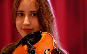 Musician Vilde Frang