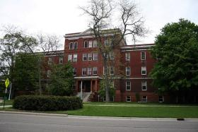 MSU's Morrill Hall before it was torn down last summer.
