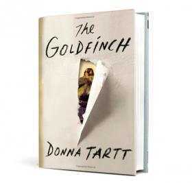 'The Goldfinch' is a novel about a 13-year-old New Yorker who survives an accident that kills his mother.