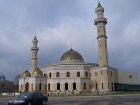 The Islamic Center of America in Dearborn, Michigan.