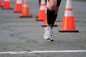 The 2014 Boston Marathon begins at 10:00 this morning.