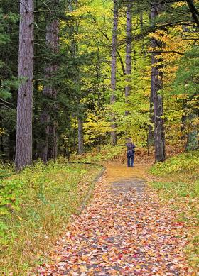The Michigan Trails and Greenways Alliance works on more than 2,700 miles on trails in the state.