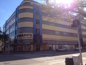 The Michigan Historic Preservation Network is involved in the restoration of the Knapp's building in Lansing.