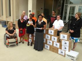 Members of the Raise Michigan Coalition say they gathered more than 300,000 petition signatures. The group submitted those signatures to the Michigan Secretary of State's office Wednesday.