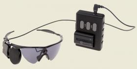 The Argus II uses electical stimulation of the retina to reproduce an image that is captured by a video camera.
