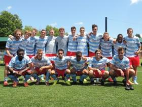 Lansing United takes on Minnesota United Reserves in its first ever playoff match on July 19, 2014.