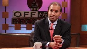 Sandy Baruah,  CEO of the Detroit Regional Chamber of Commerce, appearing on Off the Record with TIm Skubick.