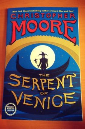Moore takes on rewriting Shakespeare in his new novel 'The Serpent of Venice.'