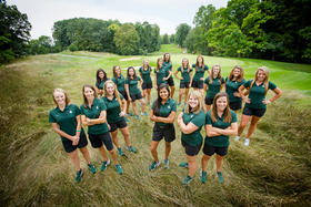 Yushira Budhram was a member of the Michigan State University Women's Golf 2013-2014 team. She is now preparing for the LPGA qualifying tournament that takes place in two weeks.