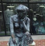 East Lansing boasts of abundant public art, like 'Cassiopeia' on Grand River Avenue.