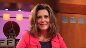 Senate Democratic Leader Gretchen Whitmer, appearing on Off the Record with Tim Skubick.
