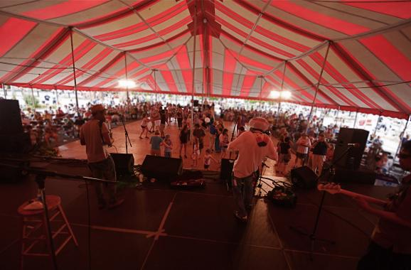 dance tent