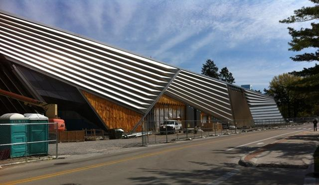 While still under construction, the Broad Art Museum at MSU is sponsoring projects like The Broad Without Walls.